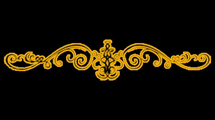 Gold Line Designs Swirls